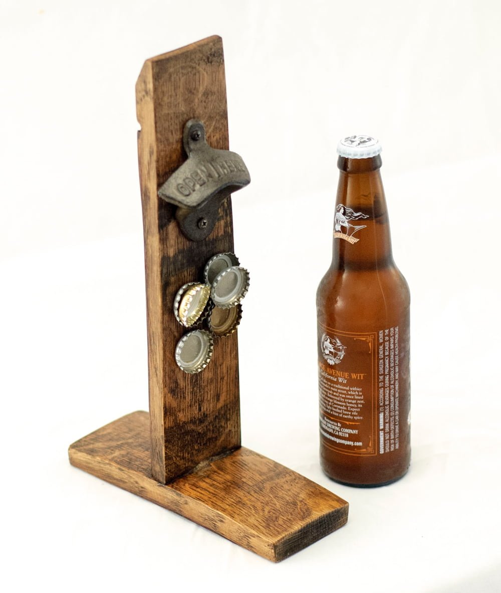 Barrel Stave Bottle Opener O Floinn Decor