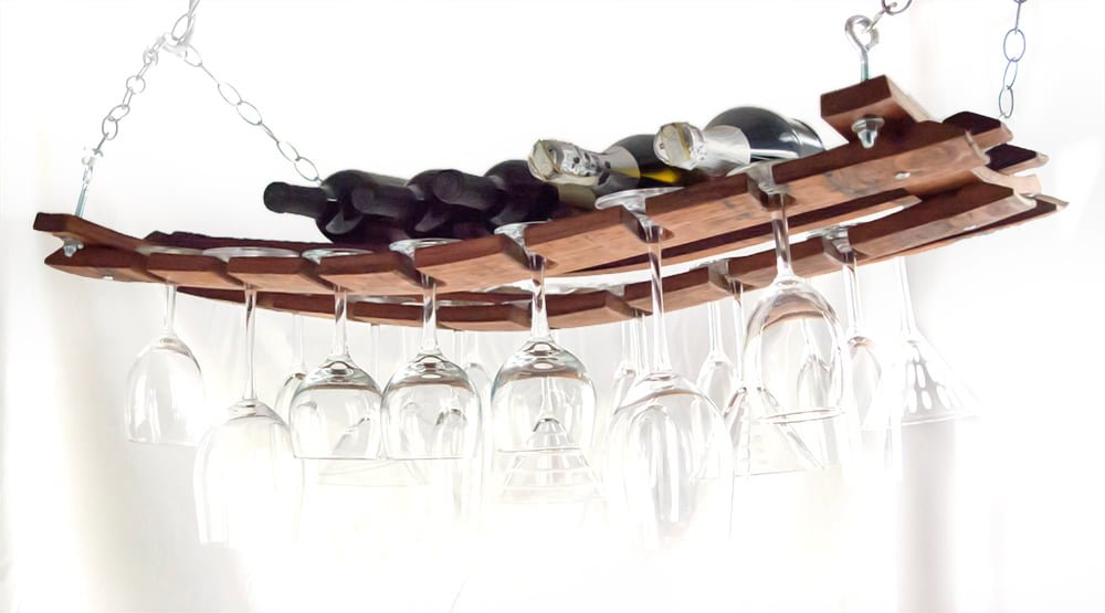 wall knife rack with Barrel Stave Hanging Wine Rack on Wine Barrel Stave Coffee Mug Rack as well Easy 30 together with Wooden Bicycle Storage Rack together with Portacoltelli Salvaspazio likewise Shed Storage Ideas.