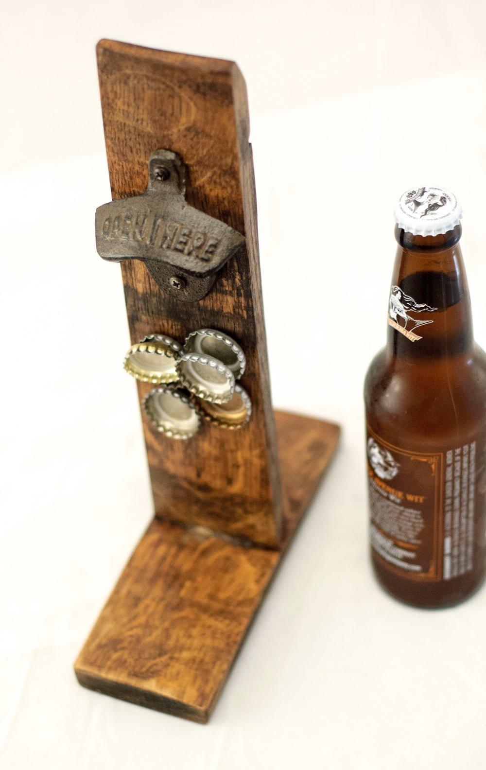Barrel Stave Bottle Opener O Floinn Decor