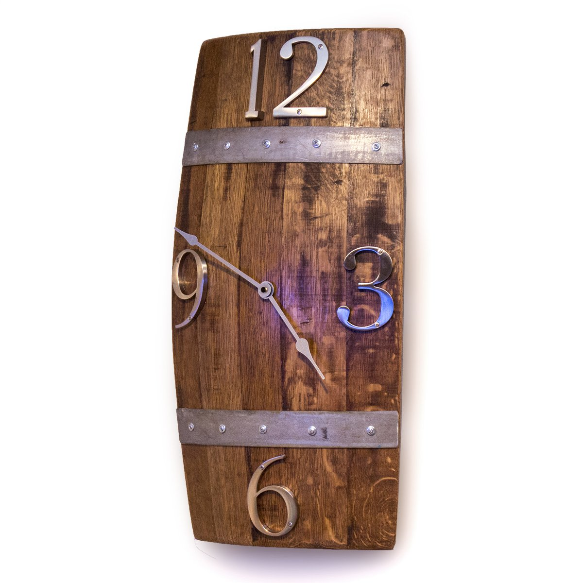 Barrel Stave Wall Clock O Floinn Decor